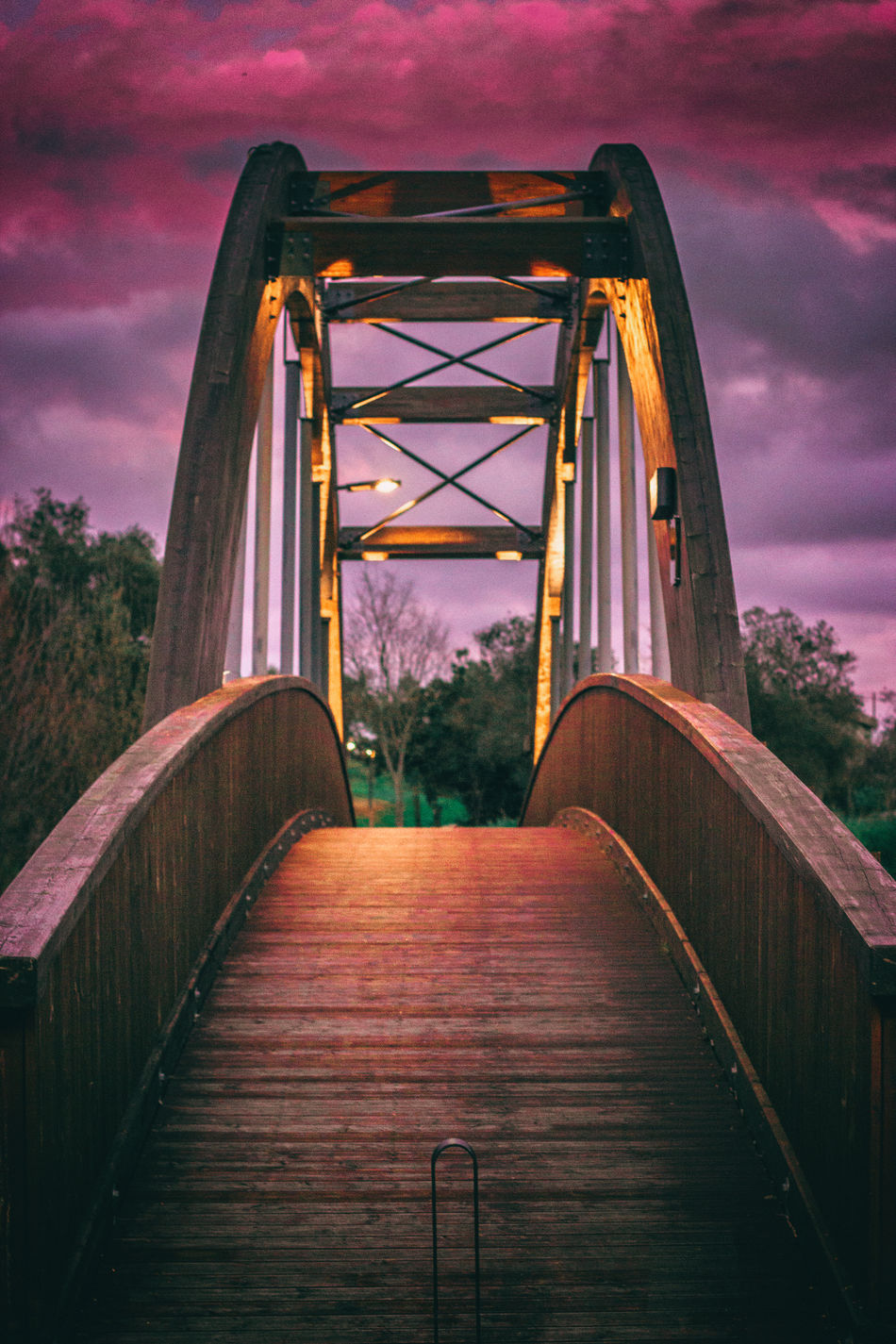 Sunset No People Outdoors Tree Architecture Sky Bridge - Man Made Structure Day EyeEmNewHere