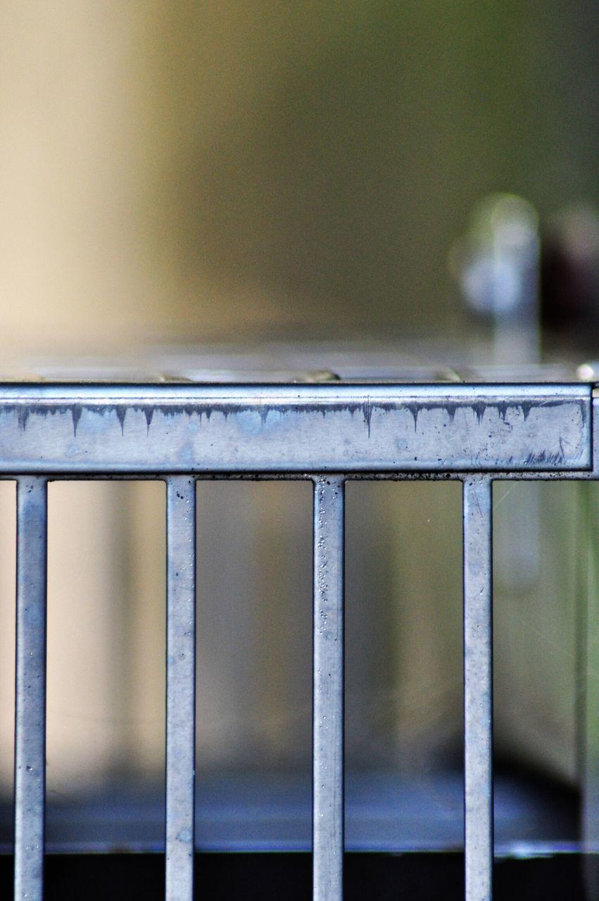 Close-Up Of Crib At Home