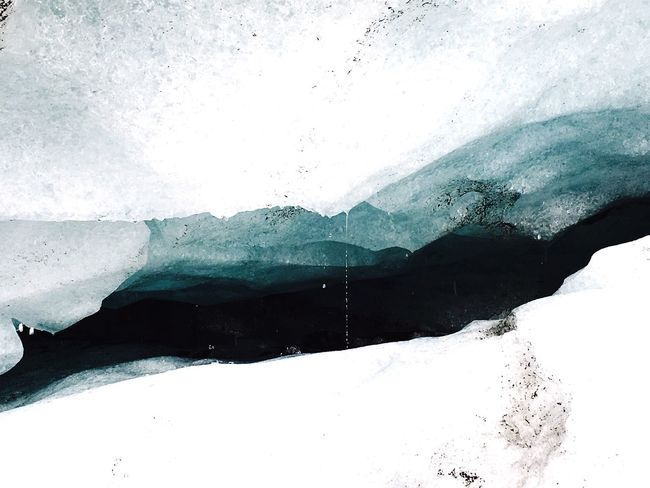 Ice Age Solheimajokull Glacier