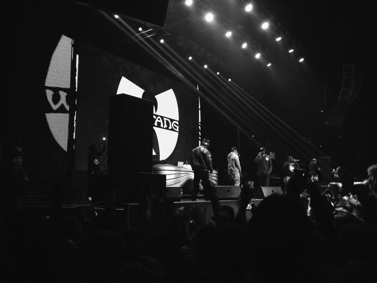Wu-Tang  Clan BIG Party in Moscow Eye4black&white  Blackandwhite