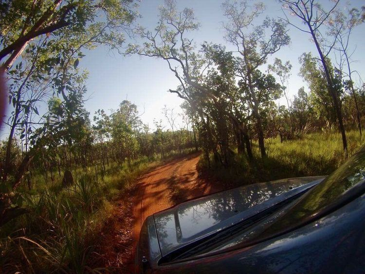 The Journey Is The Destination Kakadu four wheel driving australia