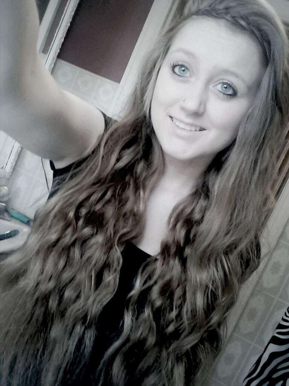 so I like my hair today