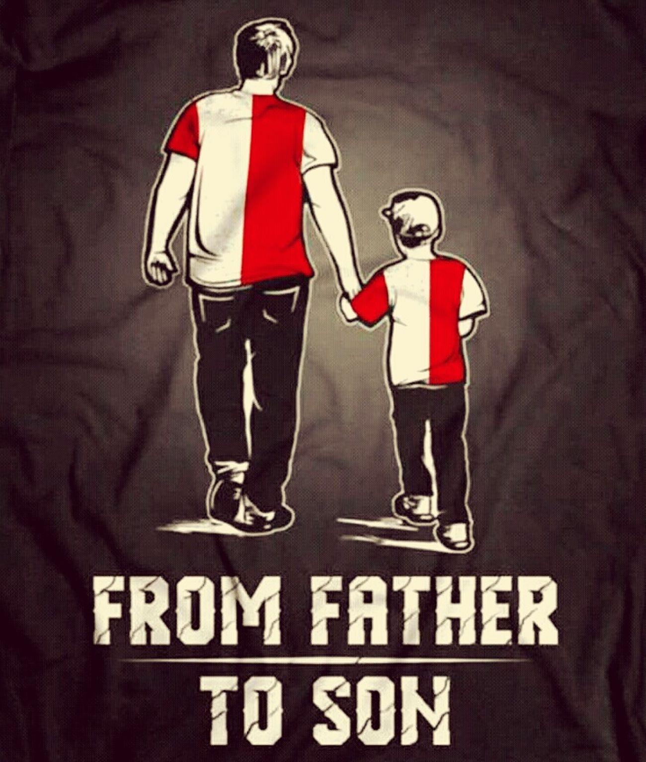 From father, to son Feyenoord Rotterdam Feyenoord