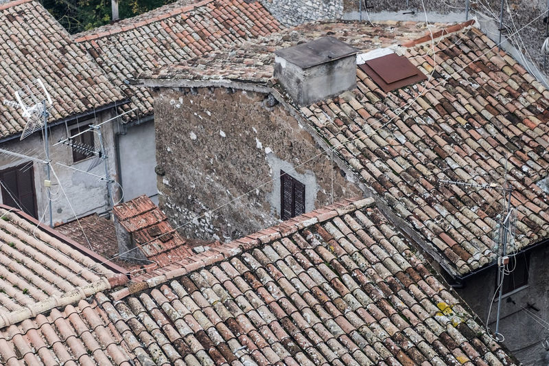 Ancient Panorama Tetti  Architecture Borgo Antico No People Outdoors Roof Tiled Roof