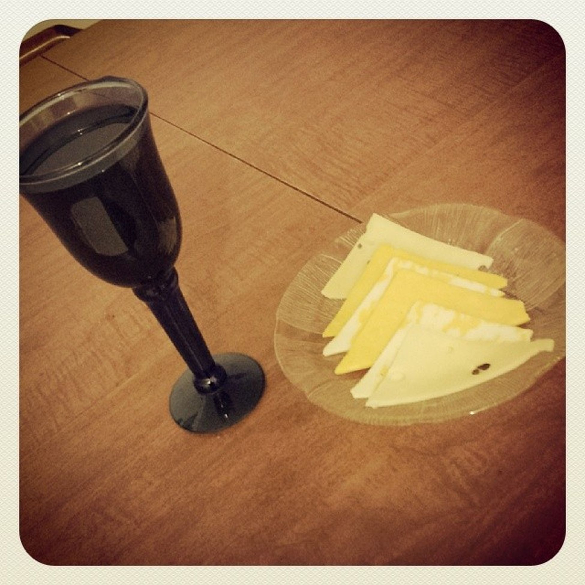 Just a little bedtime snack. Wineandcheese Yummm  Myfavcombo