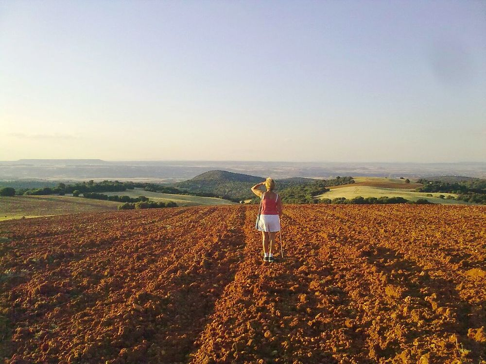 Chaorna Soria Field Fields Rural Finding New Frontiers