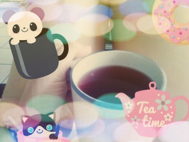 Enjoy this morning with a cup of tea <3 It's Tea Time... A Beautiful Morning