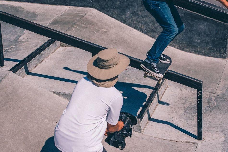Beautiful stock photos of life,  20-24 Years,  Camera - Photographic Equipment,  Casual Clothing,  Cinematographer