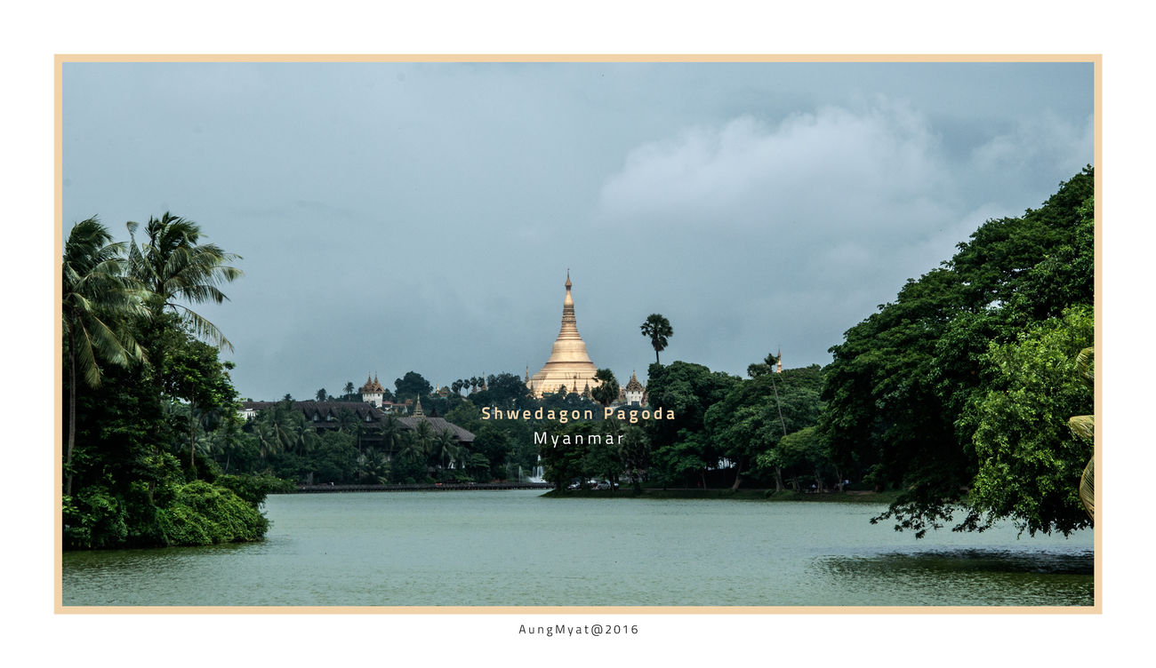 #Lake #Myanmar #Nature  #pagoda #park #photography #Windy Day Landscape