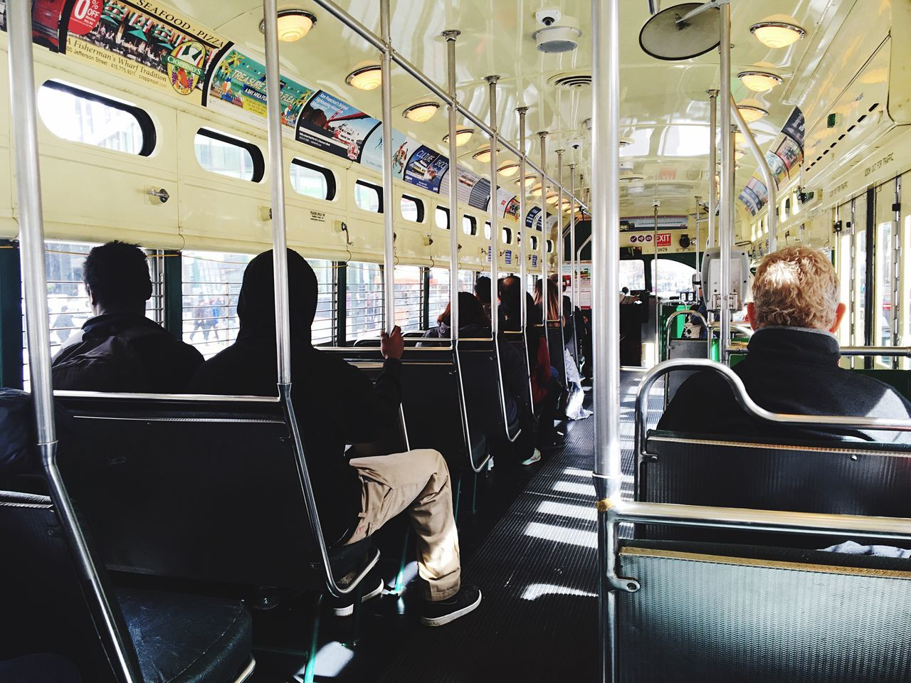 IPhoneography IPhone Photography Iphonephotography Tram Travel Transportation Mode Of Transport Public Transportation Vehicle Interior Subway Train Adults Only Indoors  Train - Vehicle Passenger Men Journey Vehicle Seat Women People Commuter Adult Large Group Of People Train Interior Only Men