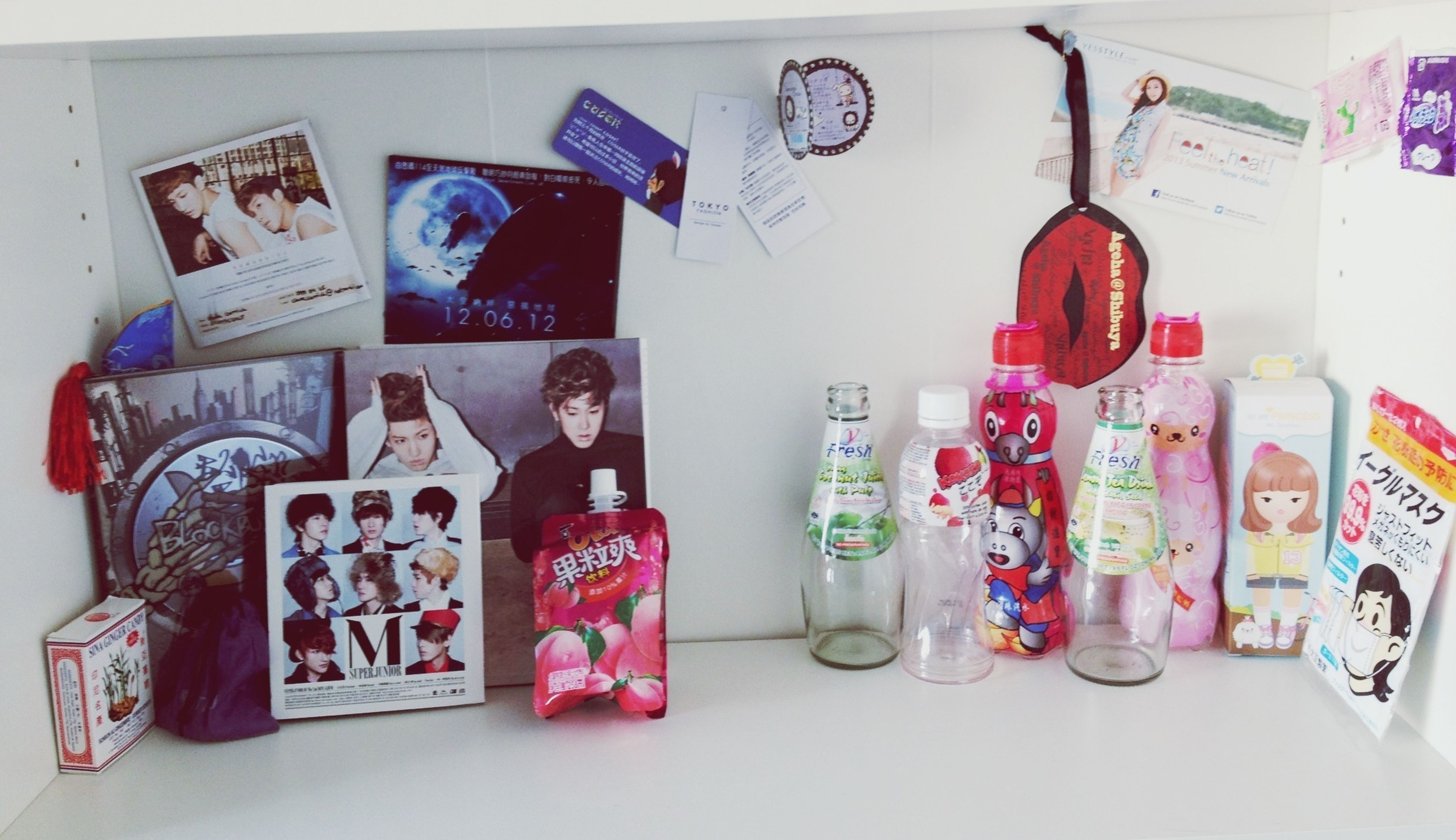 """My """"asia-shelf"""" is starting to become full ^^;; Asian Things One Day Will My Dream Come True LOL Keep Dreaming"""