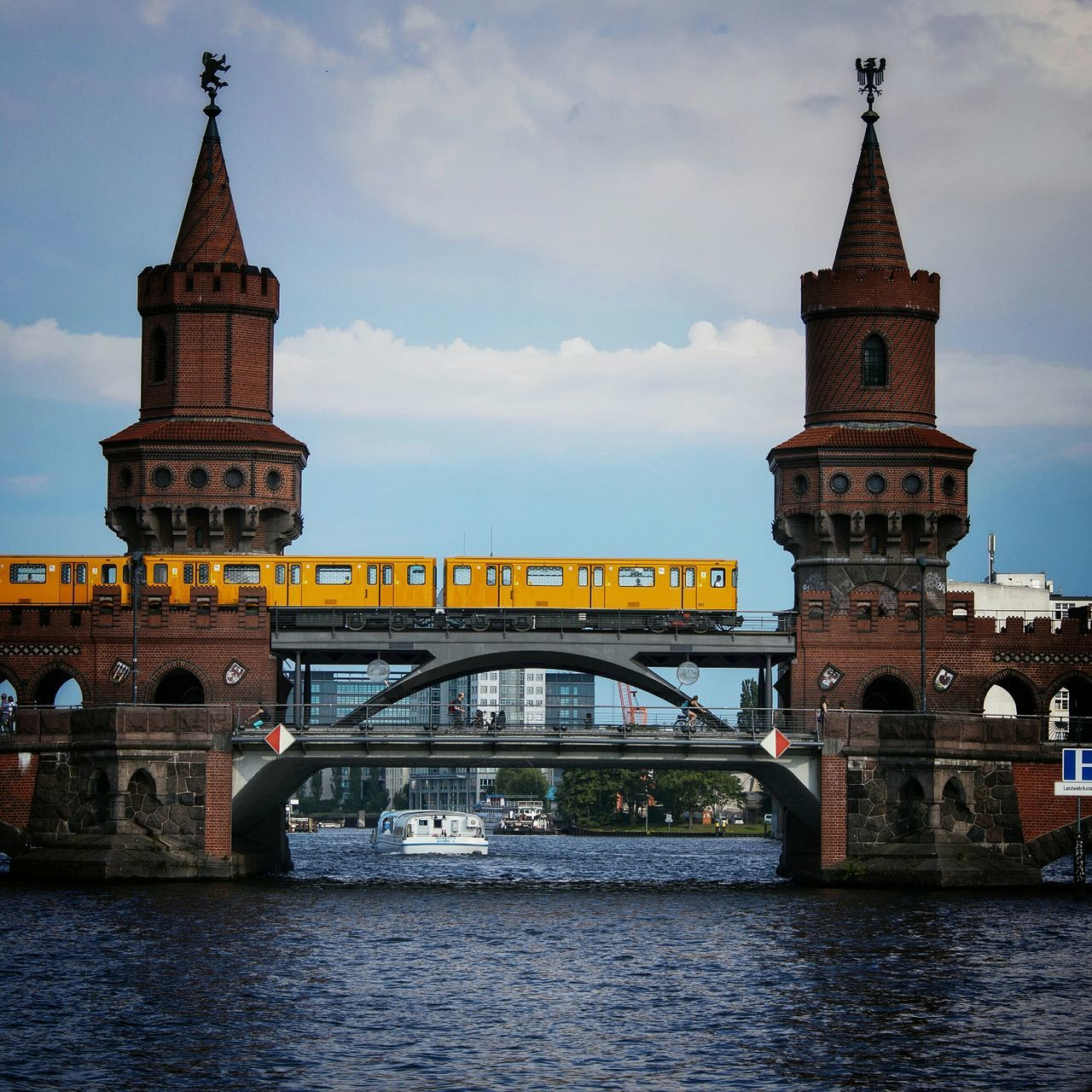 Beautiful stock photos of berlin, Architecture, Brick, Bridge - Man Made Structure, Building Exterior