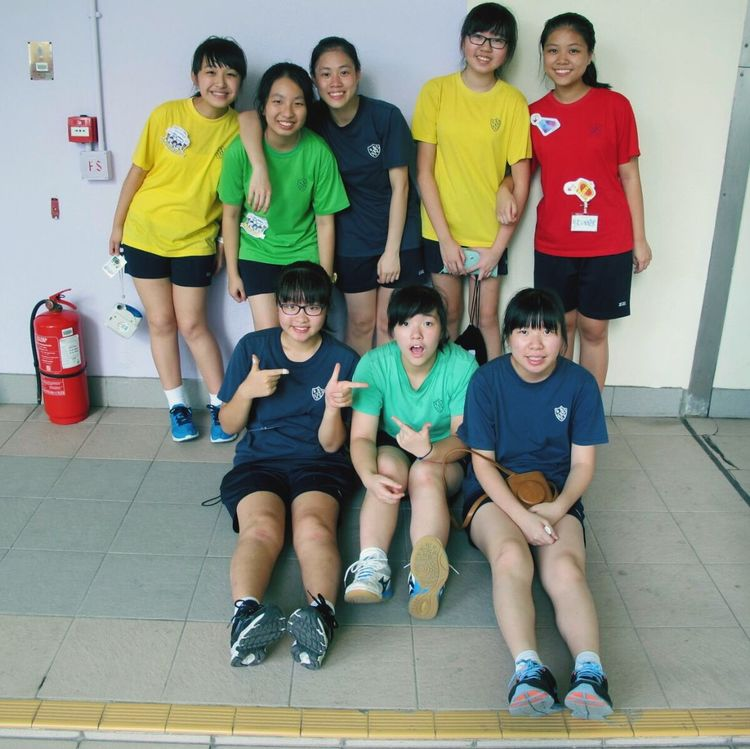 Sports day heat on 20150915🏃🏻first time being a worker!! Tiring day😴 Jenkins Sportsday Schoolmates Form4 Runners Worker Ywgs Kindaboring Tired