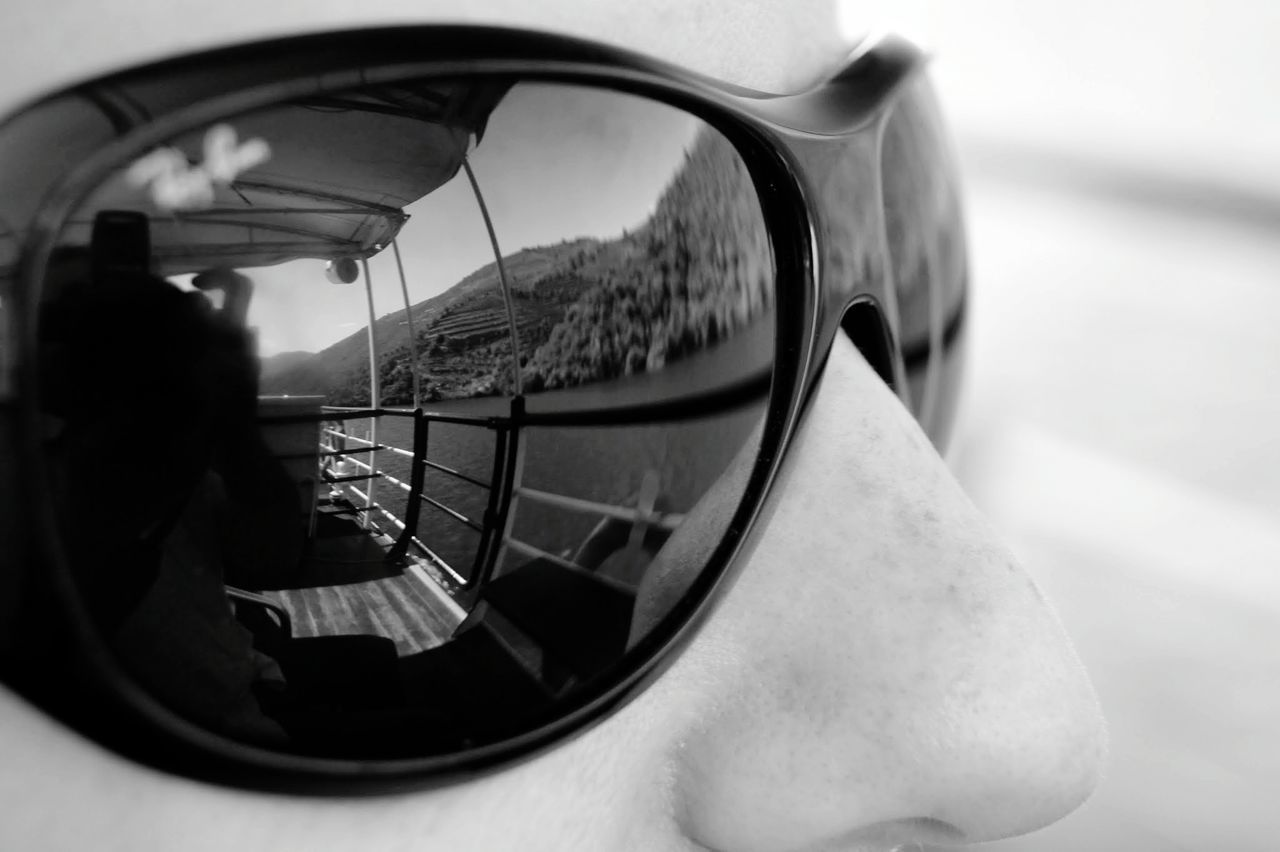 Close-up Reflection One Person Outdoors Mature Adult Day Adult People Adults Only Side-view Mirror One Man Only Vehicle Mirror Boat Ships⚓️⛵️🚢 Douro  Oporto Portugal Travel Destinations