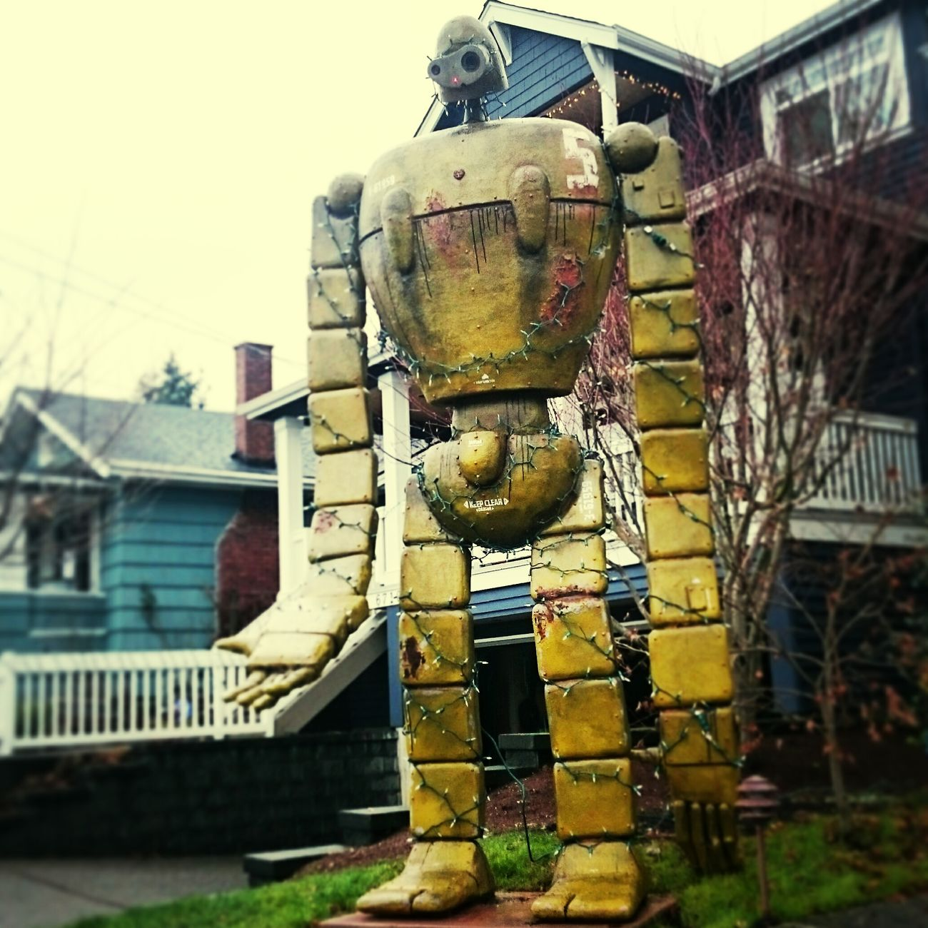 Only in Ballard.. Good on you neighbor Always Dreaming  My Planet Is Beautiful Running After Time