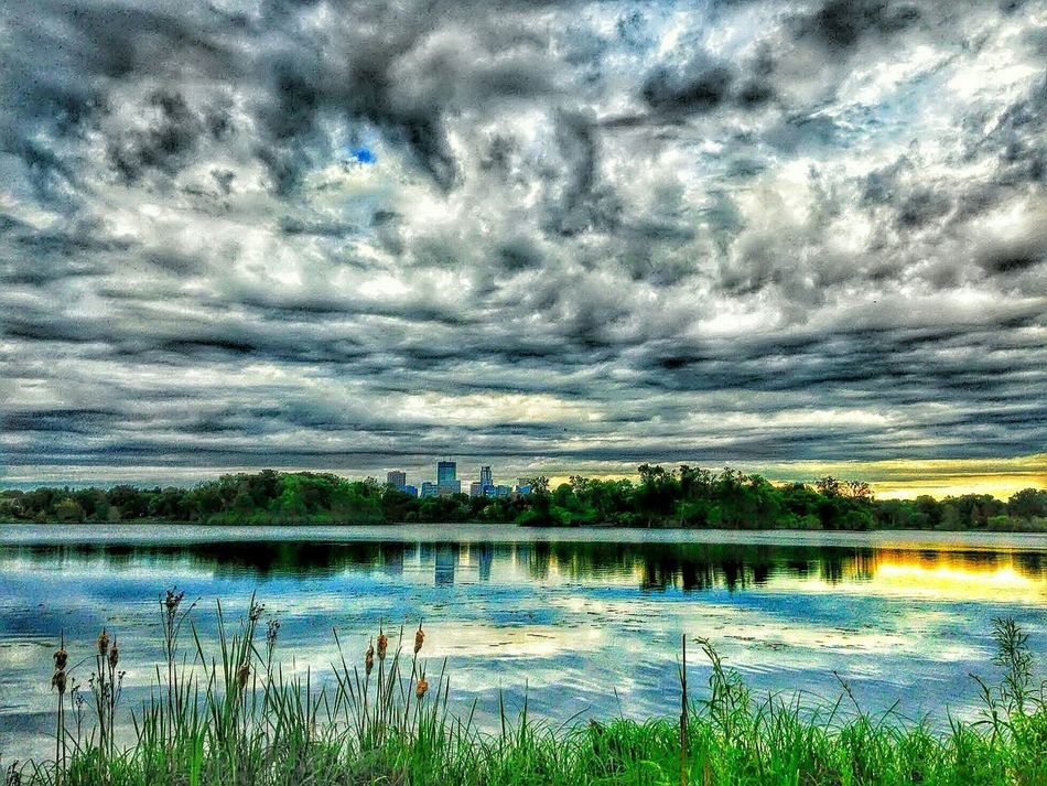Lake Of The Isles City Of Lakes Minneapolis Urban Landscape Urban Nature Urbanscape Urban Photography Urbanphotography EyeEm Best Shots Sky And Clouds Light And Shadow Afternoon Blues Cityscapes City Skyline Lowry Hill District East Isles