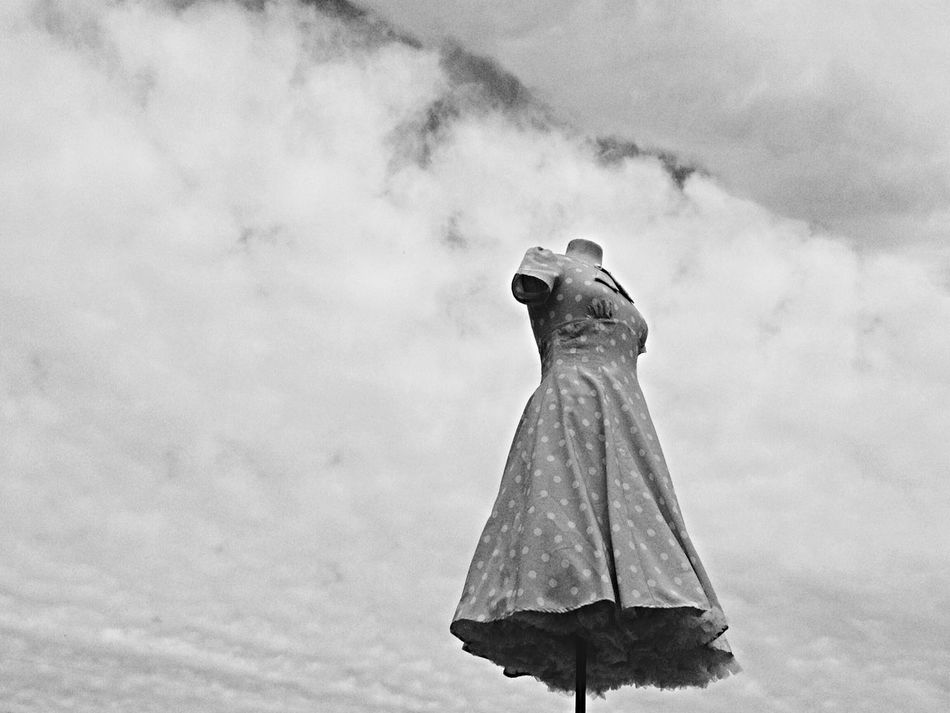 Beautiful stock photos of dress, Backgrounds, Bizarre, Black And White, Cloud