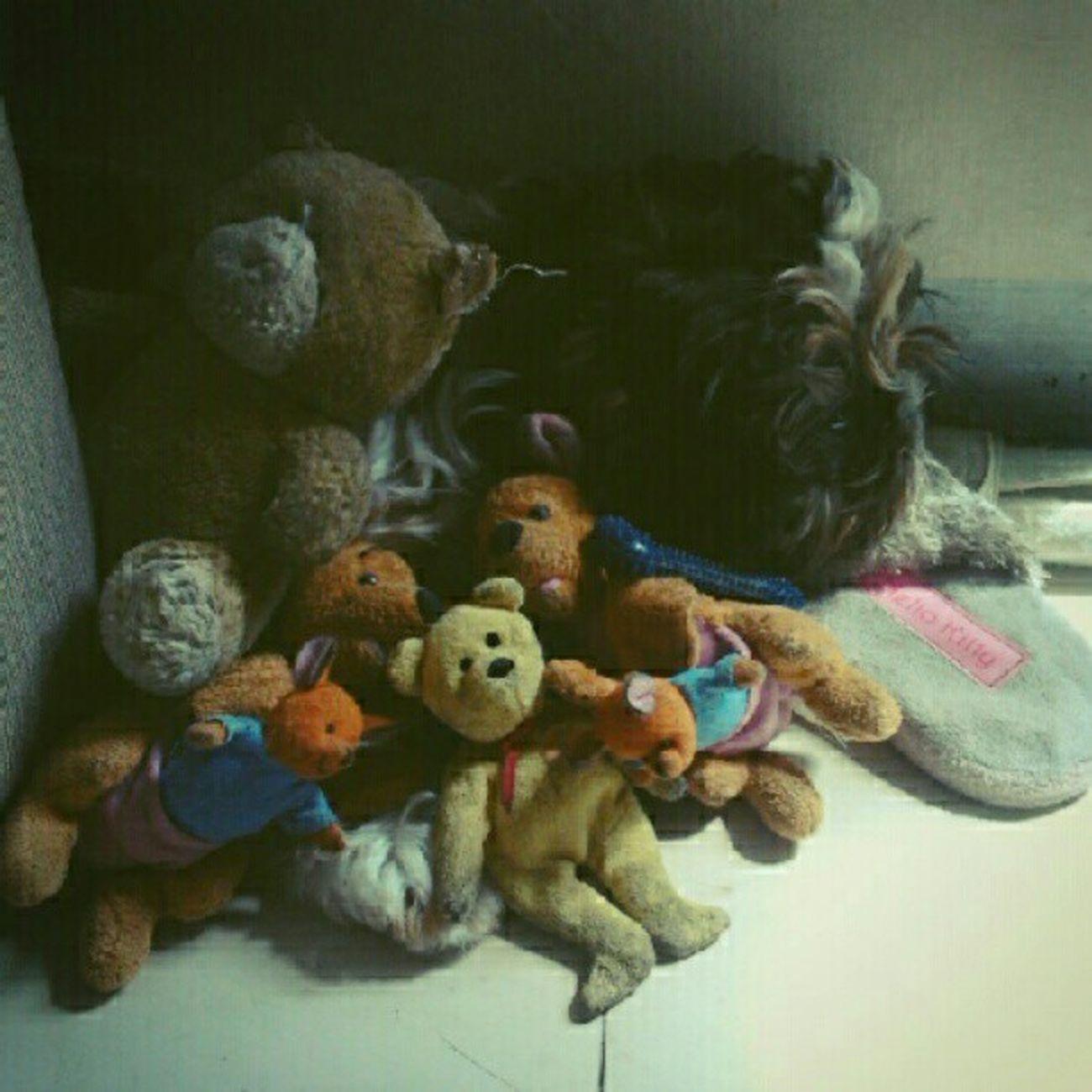 Hiding behind his toys. WHPhideandseek Sneeky