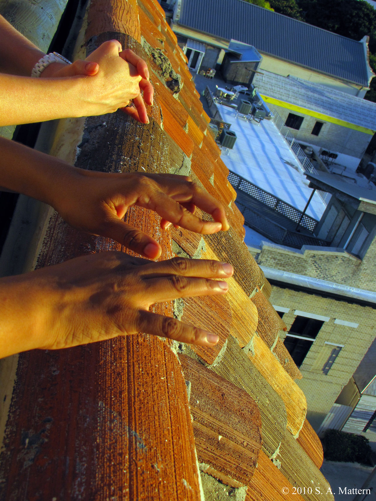 Roof Top View Adult Clay Tile Roof Close-up Conversation Friends Friendship Golden Hour Human Body Part Human Hand Key West Key West At Night Meditation Place Multi Cultural Only Women People Rooftop View  Rooftops Sunset Textured  Togetherness Women