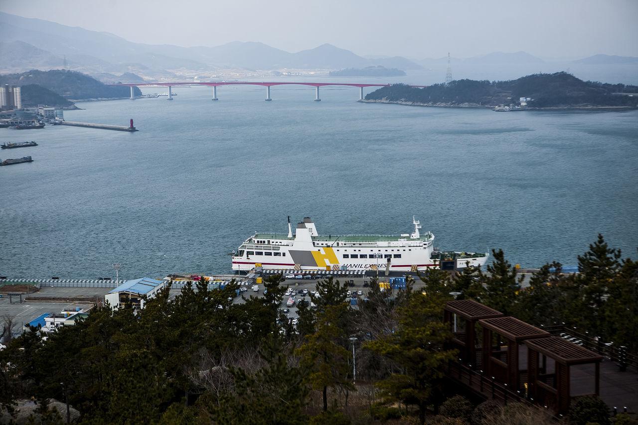 Wando Wando Tower Korea Ship Sea