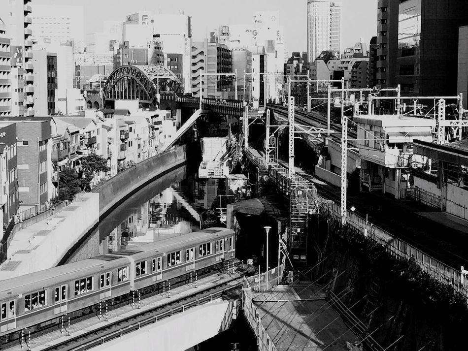 Tokyo,Japan IPhone Photography Train Black & White