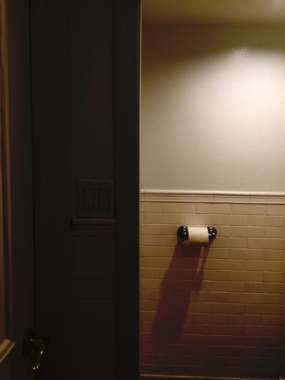 Bathroom Interior Style Interior Design Interior Views Barhroom Walls Lighting Simplicity Toilet Paper Toilet Paper Holder Tile