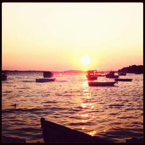 A Frame Within A Frame Çeşme Sunset Boats