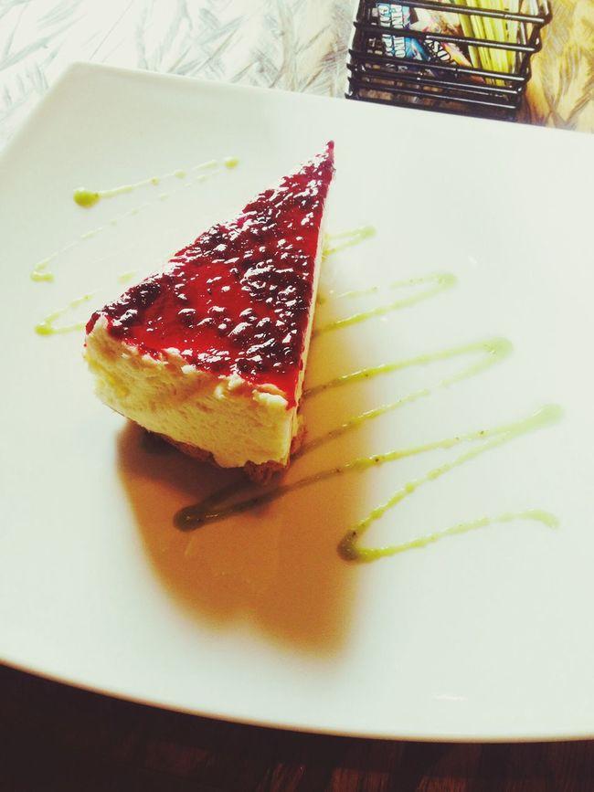 Enjoying Life Cheese! Cake myfavoritedessert ANGELICA JATIVA RUIZ Nunu