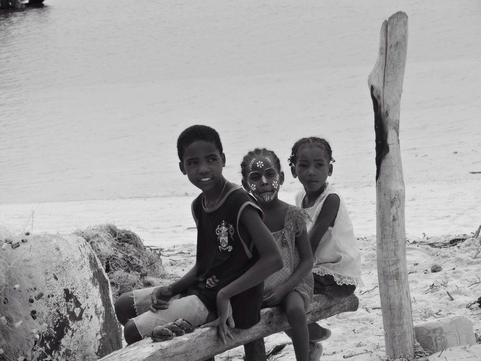 Children are smillons, in Madagascar 🎈 Madagascar  Children Blackandwhite Taking Photos Enjoying Life