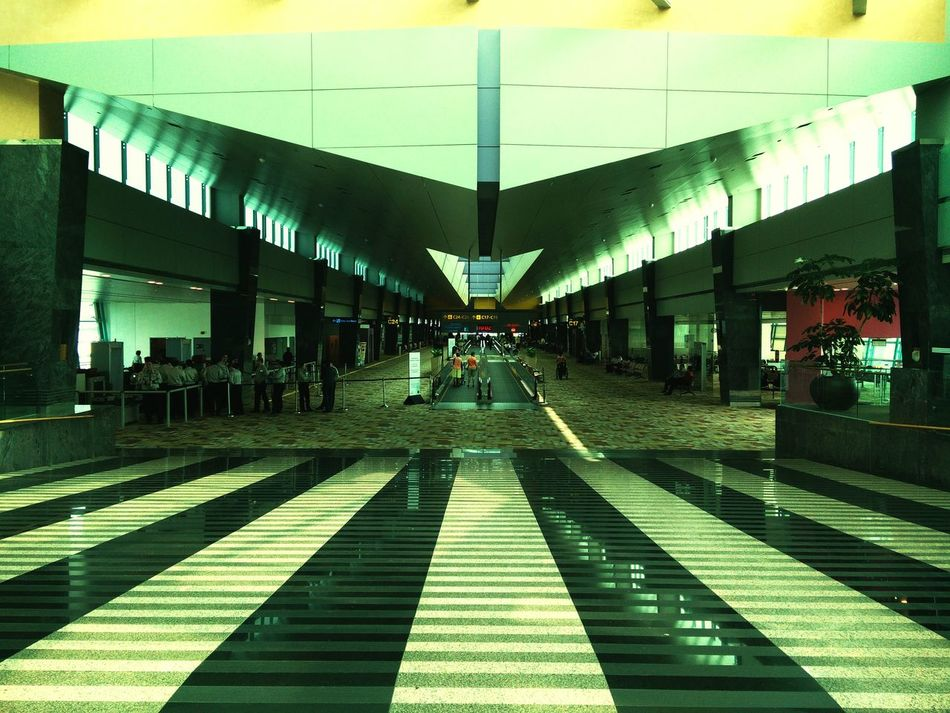 SIN ✈ DPS Singapore Airport