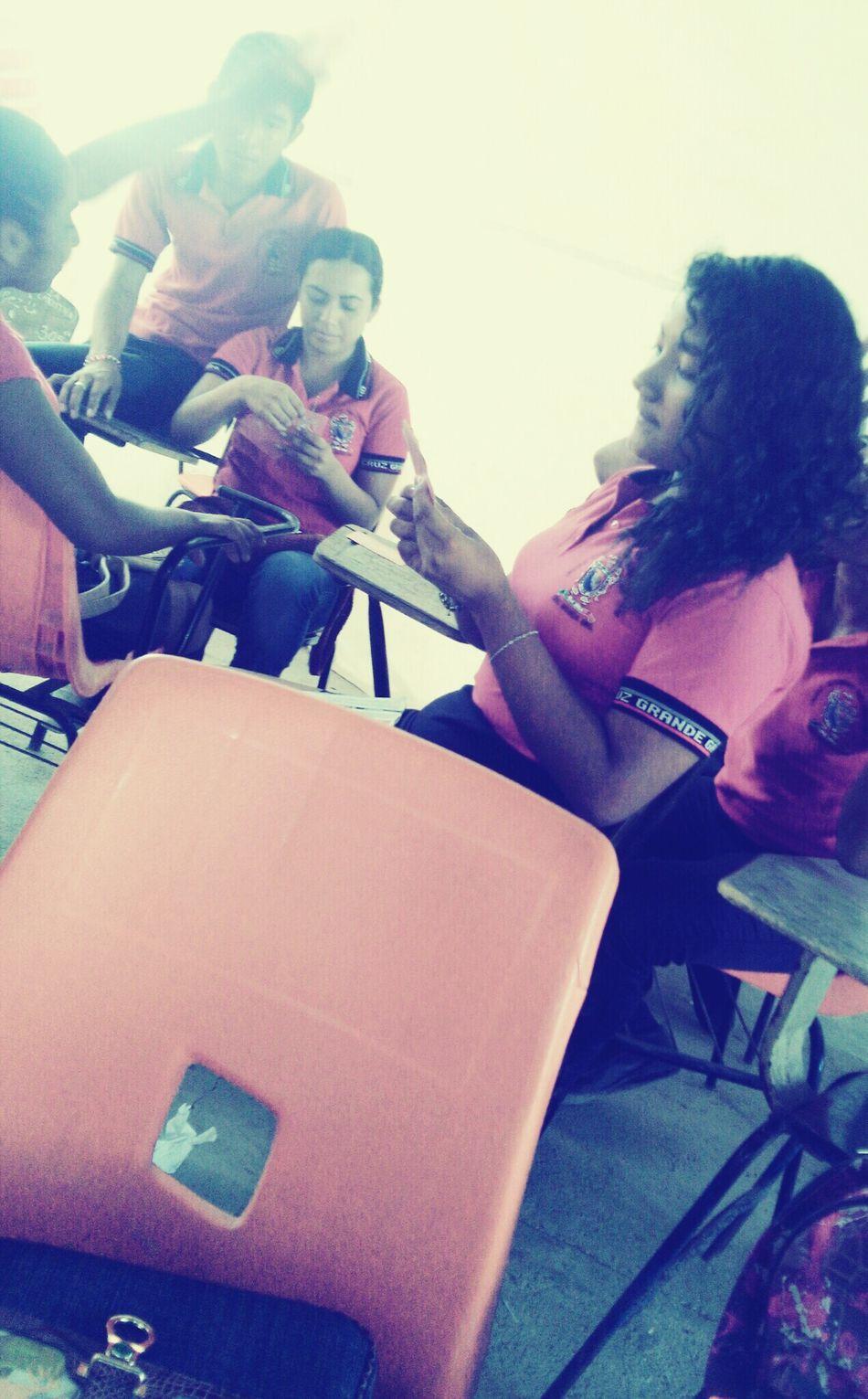 Hobbie in the school 🙈