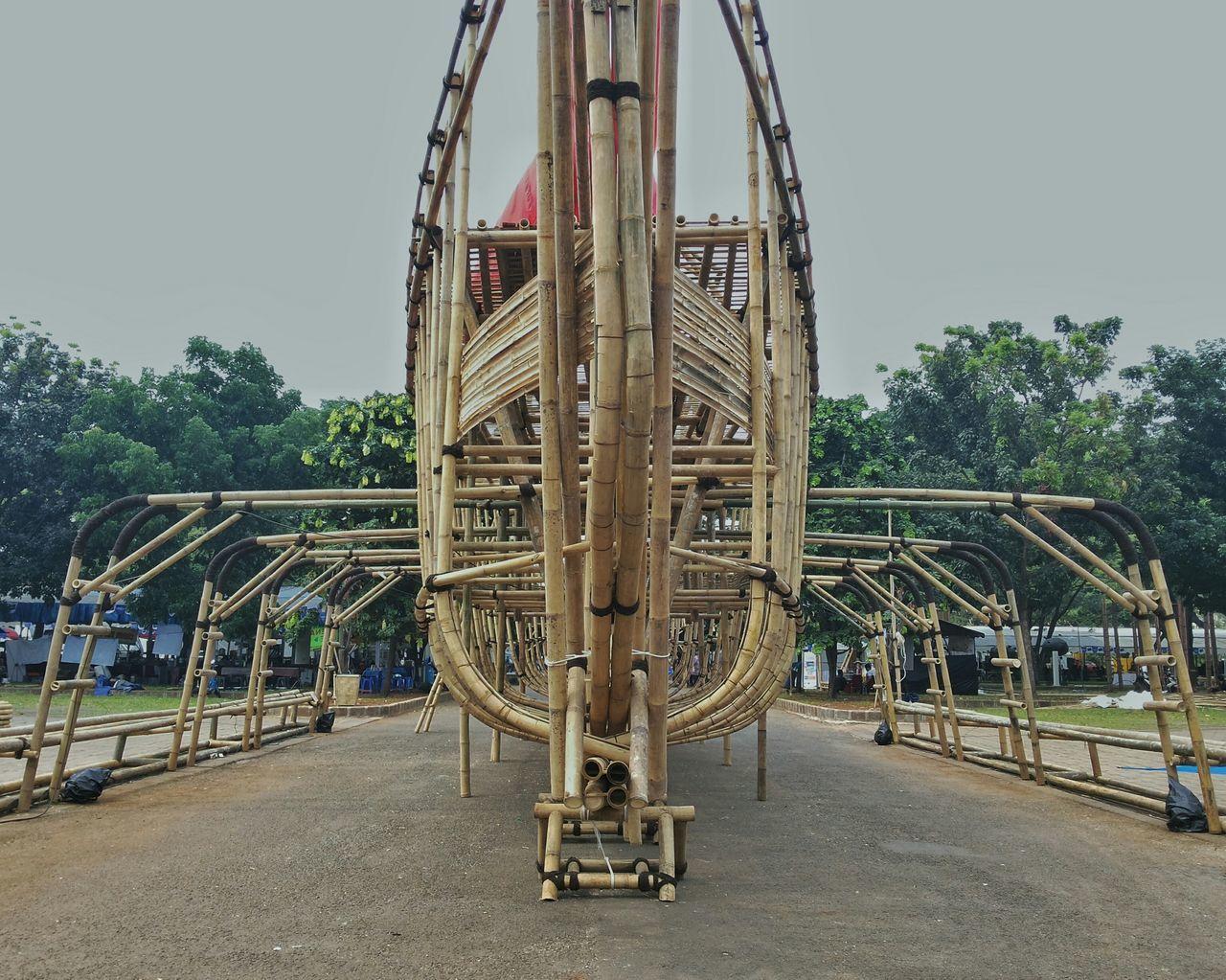 Throw A Curve Indonesia_photography EyeEm Indonesia Buildings Taking Photos Bamboodesign Art Artistic Noah