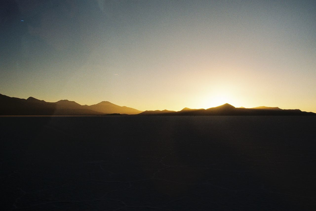 35mm Film Analogue Photography Beauty In Nature Day Desert Filmisnotdead Landscape Mountain Nature No People Non-urban Scene Outdoors Remote Scenics Sky Sunset Tranquil Scene Tranquility
