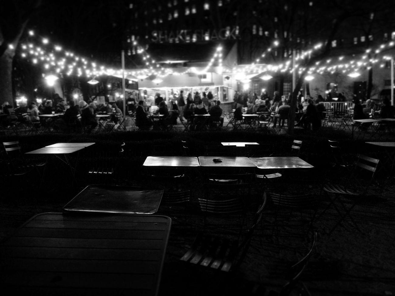 Bw Bwstreetphotography Nightphotography Newyork Shakeshack Restaurant First Eyeem Photo