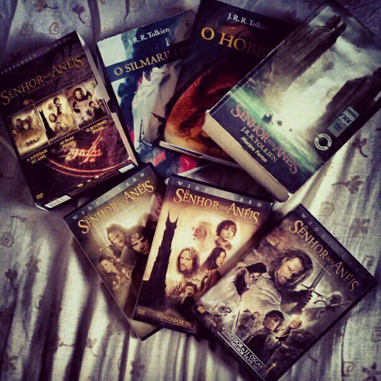 Tesouro <3 SenhorDosAneis Hobbit Books Collection