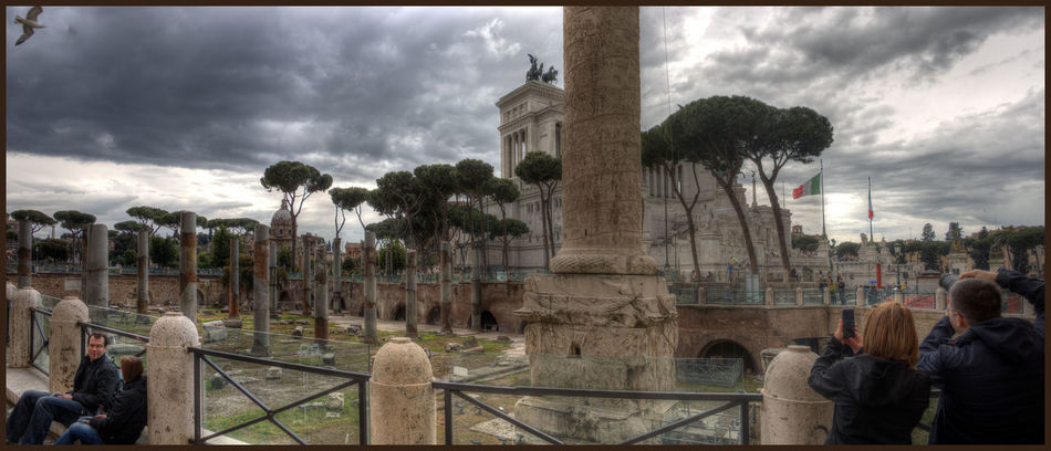 City HDR Historical Building Historical Sights Outdoor Photography Panorama Rome, Italy Tonemapping