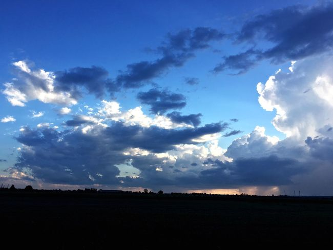 Felhők Clouds Clouds And Sky Cloud - Sky Nature Nature Photography Természet Landscape Blue Beauty In Nature Sky