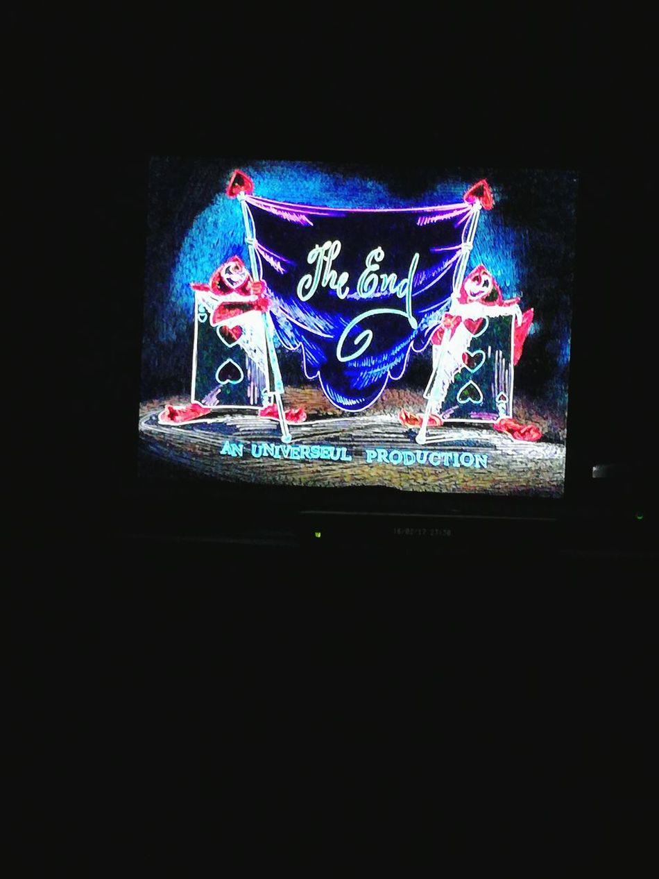 Night Illuminated Blue No People Aliceinwonderland Nightlife Black Sofa