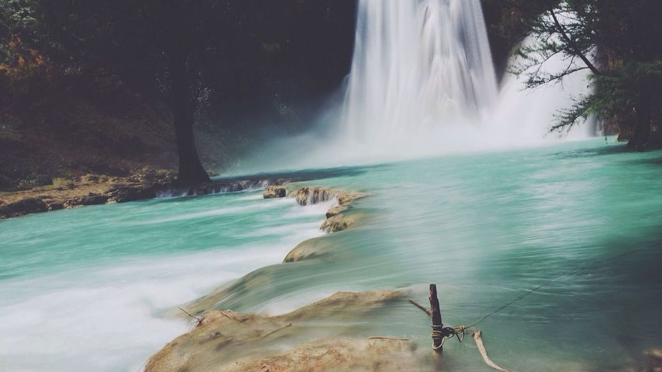 Beautiful stock photos of waterfall, Beauty In Nature, Blurred Motion, Day, Flowing Water