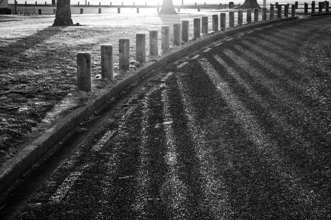 stark contrast 😊 Shadows Shadows & Lights No Parking Bnw Black & White Blackandwhite Photography Contrast Lines And Shapes Sunset Getting Inspired Eye4photography  Walking Around EyeEm Best Shots Hello World Kiwi Clicker Malephotographerofthemonth Good Morning EyeEm Masterclass Tadaa Community From My Point Of View Bollards Levin Sunset Silhouettes Check This Out On The Road