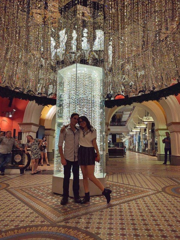 Qvb ✌✌ 😘 Full Length Indoors  People Men Queen Victoria Building QVB Shopping Center Illuminated Indoors  Full Frame Hanging Out Love