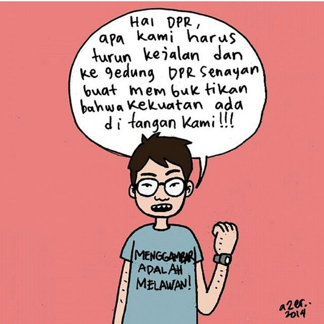 Regram from @komikazer What's wrong with our Democrazy? People's power or (some) people's power *read: councilman? INDONESIA Democrazy ShameOnYouSBY