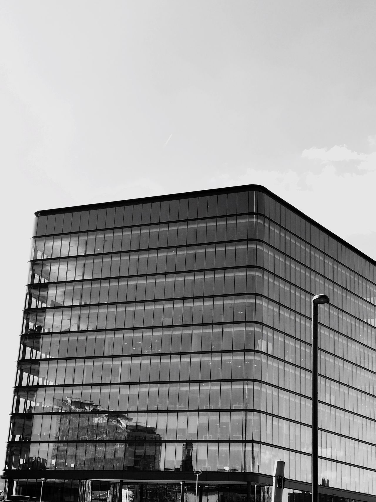 Modern architecture black and white The Architect - 2017 EyeEm Awards Architecture Built Structure Building Exterior Modern Sky Low Angle View Day Outdoors City No People Modern Architecture Blackandwhite Architecture Photography Architectural Feature EyeEm Architectural Design Building Reflections City EyeEm Gallery EyeEm Best Shots Reflection Buildings Architectural Detail