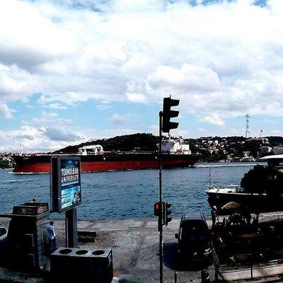 İstanbul<3 Casper VİA Gezinti Istanbul Landscape Phsk Instagram shrqan casper followme sk photography bosphorus sea colors instalike instagood asiyan parki