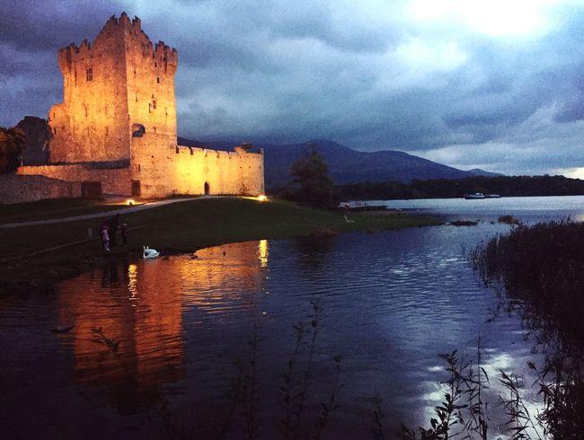 End of Summer Castle Ireland Lovers Irish Castle View  Irish Castles Lakeshore Irish Landscape Irish Sunset