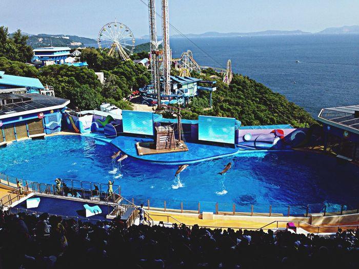 Ocean HongKong Park Blue