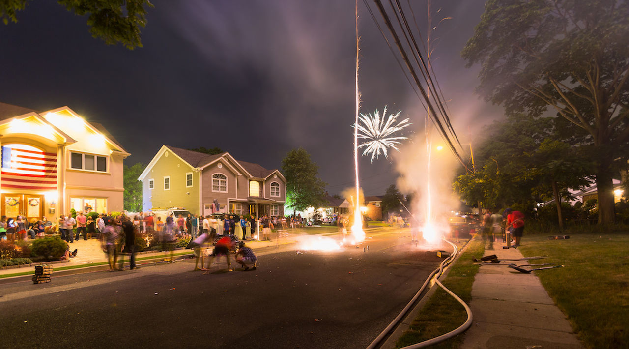 July 4th fireworks Fireworks Fireworksdisplay Longisland Beautiful Indenpendenceday Amazing Street David Gutierrez Good Times Party