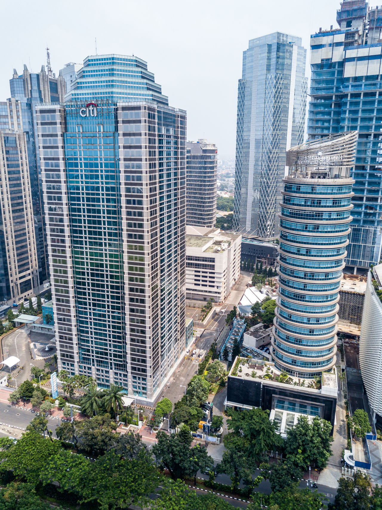 Aerial Aerial Shot Aerial View Architecture Building Exterior City City Life Cityscape Day Downtown District Drone  Dronephotography EyeEm Jakarta Futuristic INDONESIA Jakarta Modern No People Outdoors Sky Skyscraper Urban Skyline