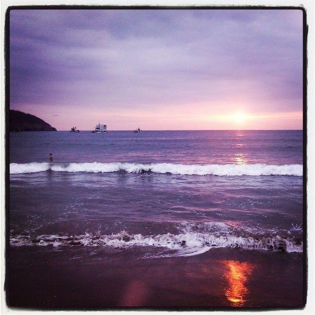 Puerto Lopez, paraíso en el Ecuador Ecuador Manabí Playa Beach Sunset Paradise AllYouNeedIsEcuador
