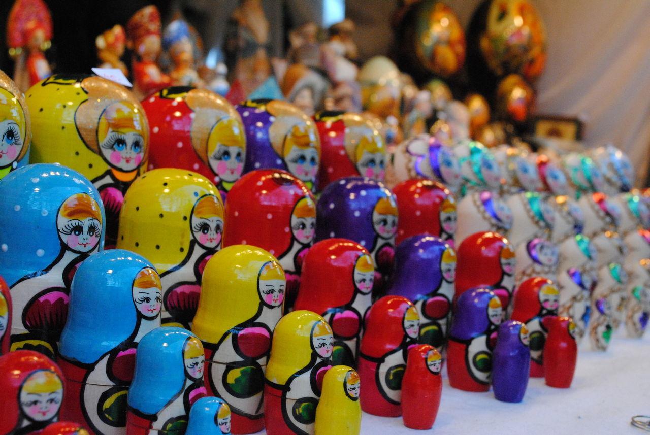 Colorfull Colors Dollsphotography Handmade Matrioska